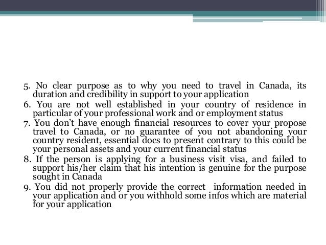 canadian temporary visa document checklist