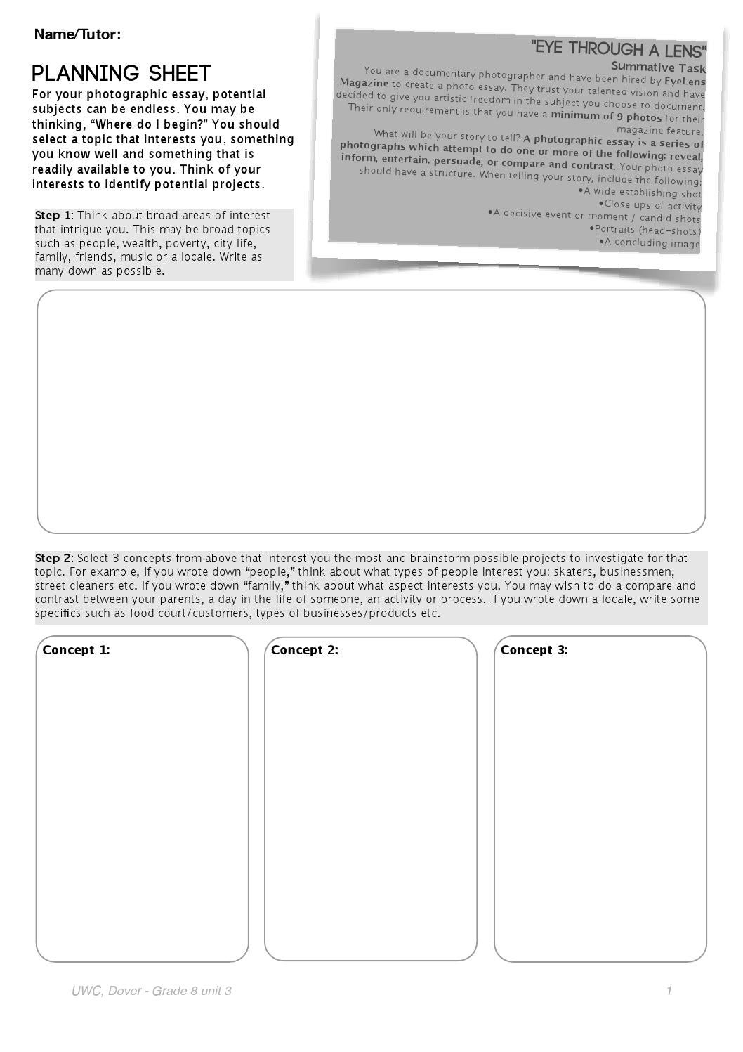 making a sheet a page in a document