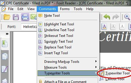 how to edit pdf document in foxit reader
