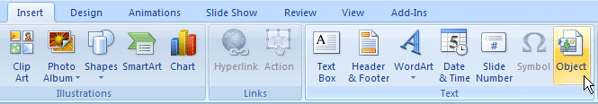 can an eps file be instered into a word document