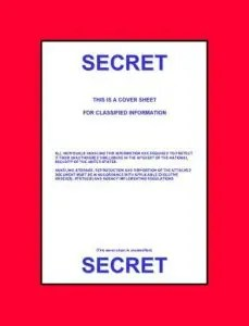 example of top secret document